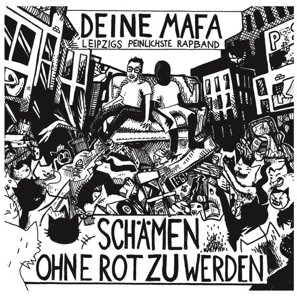 Deinemafa - Schämen Ohne Rot Zu Werden (Vinyl)